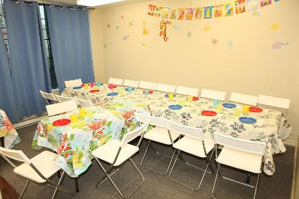 One of the two Bithday party rooms